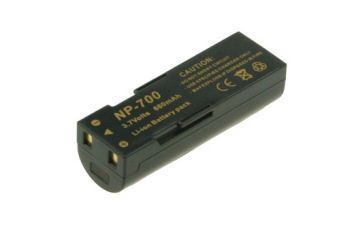 2-POWER Digital Camera Battery 3.7v 700mAh Tilsvarende NP-700 (DBI9650A)