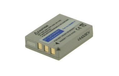 Digital Camera Battery 3.6v 645mAh Tilsvarende B-9651