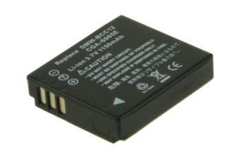 2-POWER Digital Camera Battery 3.7v 1050mAh Tilsvarende BP-DC4 (DBI9709A)