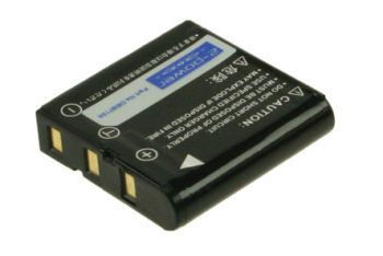2-POWER Digital Camera Battery 3.7v 1230mAh Tilsvarende SLB-1237 (DBI9713A)