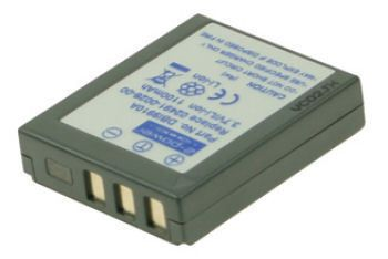 2-POWER Digital Camera Battery 3.7v 1100mAh Tilsvarende 02491-0028-00 (DBI9910A)