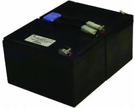 2-POWER Valve Regulated Lead Acid Battery Tilsvarende RBC6 (UPL0749A)