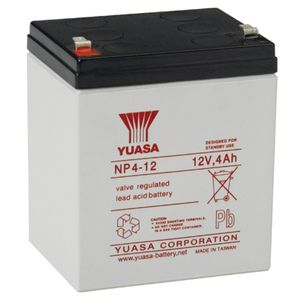 YUASA Valve regulated lead acid - UPS machines various (NP4-12)