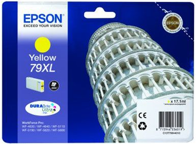 INK CARTRIDGE T79044010 2000 PAGES YELLOW