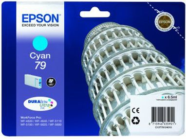 INK CARTRIDGE T79124010 800 PAGES CYAN