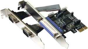 PCIe DC-9112 2xSeriell +1 Parallel PCI Expr.Int