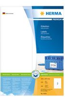 Labels 105 x 297mm, A4 Herma premium, white, (100 sheets)