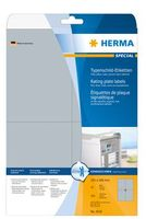 ABEL HERMA 4216 A4 105X148MM EXTREEM ADHESIVE SILVER
