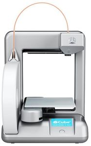 3D SYSTEMS 3DSYSTEMS Cube silver 3D-Printer (381000)
