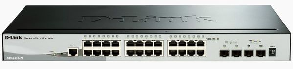 28P SmartMngd.Gigabit StackSwitch