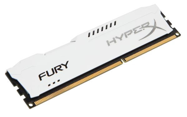 HyperX/ 4GB 1600MHz DDR3 CL10 DIMM HyperX Fury White Series