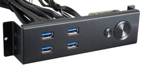 BZ-U08B Multi-Panel USB 3.0 - schwarz