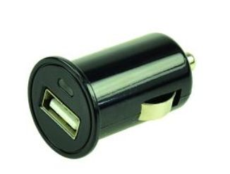2-POWER USB Car Charger (Black) 0.6A (CUSB5001B)