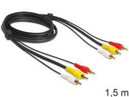Audio-Video Kabel Cinch, 1.5m