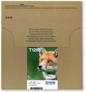 EPSON MULTIPACK 4-COL T1285 ULTRA INK FOX-SIZEM:BLCYANMAGENTAYELLOW    IN SUPL (C13T12854510)