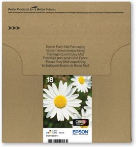 EPSON MULTIPACK 4-COL 18 INKEASYMAILP 18/DAISY SERIES:BLCYANMAGYEL     IN SUPL (C13T18064510)