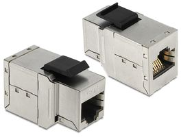 DELOCK Keystone RJ45 Bu-Bu Cat6 metall (86141)
