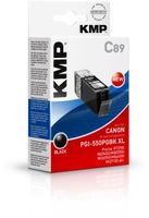 C89 ink cartridge black comp. with Canon PGI-550PGBK