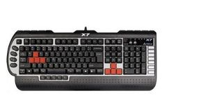 Tastatur WIRED Gamer Program. X7-G800V schwarz/ silber