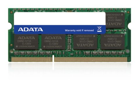 A-DATA DDR3L SODIMM Adata 4GB 1600MHz CL11 1.35V, Retail (ADDS1600W4G11-R)