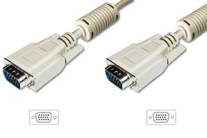 VGA MONITOR CONNECTION CABLE