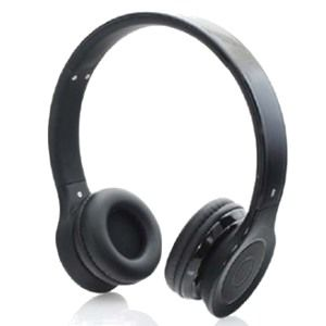Bluetooth headset, microphone & stereo, black color