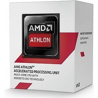 Athlon 5350 Socket-AM1,  Quad Core, 2.05GHz, 2MB, 25W, 28nm, Radeon R3-series,  Boxed w/fan
