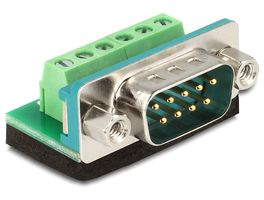 Adapter Terminalblock 6Pin -> D-Sub9 Stecker