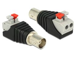 Adapter Terminalblock 2Pin -> BNC Buchse