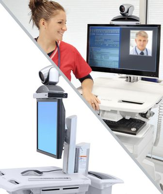 SV TELEPRESENCE KIT FOR SINGLE MONITOR NON-POWERED CART