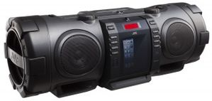 RV-NB75E BoomBlaster 40W,  CD, iPhone5 docking, radio, USB host, MP3/WMA avspilling