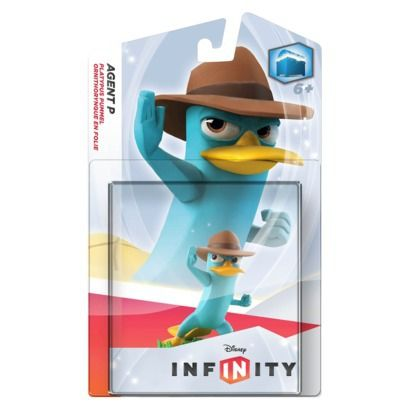 Infinity Figure_ Agent P - 4-pack