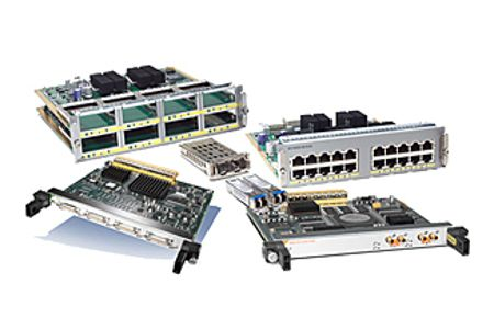 CISCO 1 port Multiflex Trunk Voice Clear channel Data T1 E1 Module (NIM-1MFT-T1/E1)
