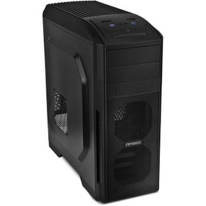 ANTEC GX500 Gaming Case black 2x USB 3.0 top 7x PCIe Slots without Power Supply (0-761345-15500-7)
