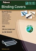 Earth Binding Covers A4 transparent