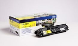 BROTHER TN-321Y TONER CARTRIDGE YELLOW