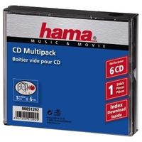 CD-Multipack Leerhüllen 6-er Pack