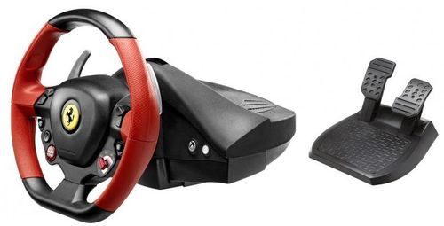 THRUSTMASTER KONSOLE FERRARI 458 SPIDER RACING WHEEL  IN ACCS (4460105)