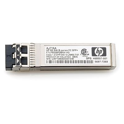 8Gb Shortwave B-series Fibre Channel 1 Pack SFP+ Transceiver Factory Sealed
