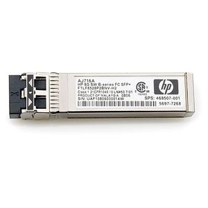 Hewlett Packard Enterprise 8Gb Shortwave B-series Fibre Channel 1 Pack SFP+ Transceiver Factory Sealed (670504-001)
