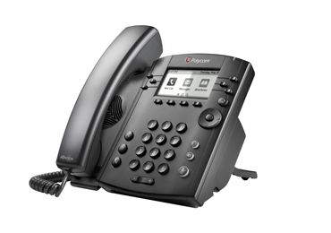 POLYCOM VVX 300 DT PHONE HD VOICE 6-LINE POE. SHIPS W/O PWR SUPL.  IN PERP (2200-46135-025)