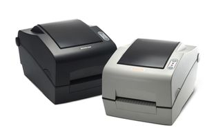 TT LABEL PRINTER 203DPI CUTT. D. GREY SERIAL PARAL. USB IN