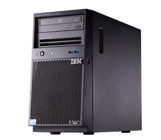 IBM Express x3100 M5. Xeon 4C E3-1220v3 80W 3.1GHz/ 1600MHz/ 8MB. 1x8GB. O/Bay HS 2.5in SAS/SATA. SR M1115. Multi-Burner. 2x430W p/s. Tower  (5457EHG)