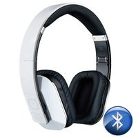 MICROLAB Headset wireless T1 white incl. Mic (T1 WHITE)