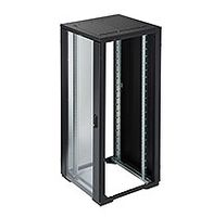 RE Rack 42Ux800Wx800D Glass no sides