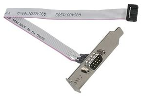 Serial port option Cable for 2nd RS-232-C 9 pin interface Occupies PCI slot For RX300 S3
