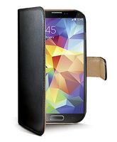 CELLY Wallet Case Galaxy S5 Sv/Be (WALLY390)