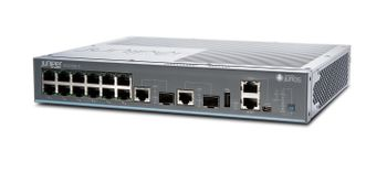 JUNIPER EX2200-C compact, fanless switch with 12-port 10/ 100/ 1000BaseT and 2 Dual-Purpose (10/ 100/ 1000BaseT or SFP) uplink ports (optics not include (EX2200-C-12T-2G)