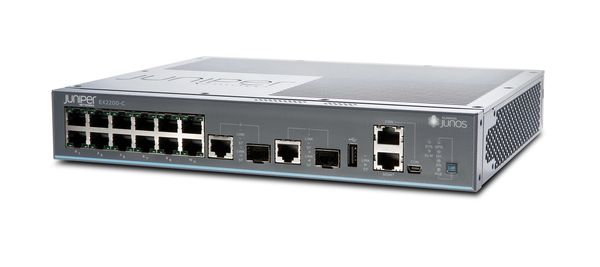 Switch/ EX2200-C Compact Fanless 12 ports