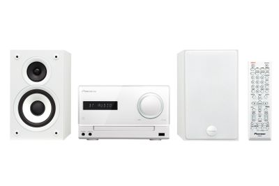 X-CM32BT-W Mikro-Hifi 2x15w CD iPhone compatible (usb) Bluetooth usb aux white (X-CM32BT-W)